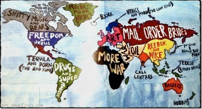 Attack On Titan Karte.Die Welt Auf Den Punkt Gebracht The Sweet Nonsense