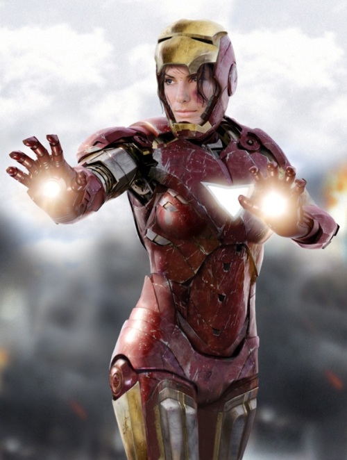 Lady Avengers - Iron Man