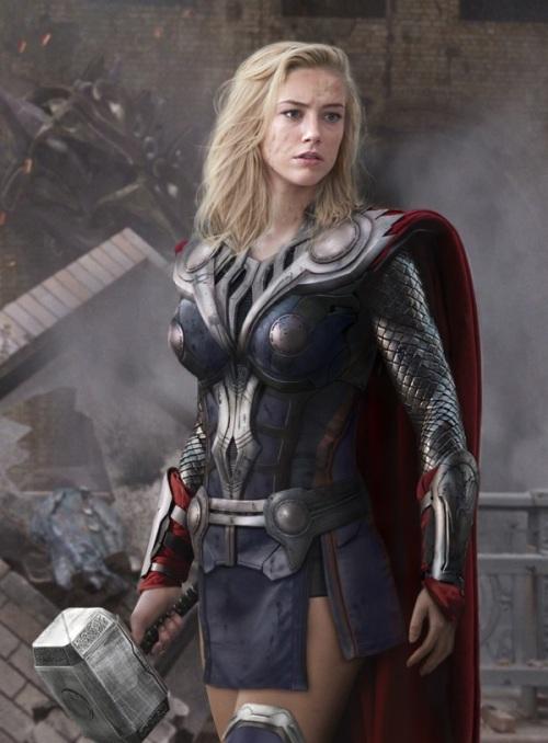 Lady Avengers - Thor