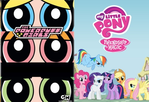 Powerpuff Girls vs. My Little Pony Friendship is Magic - Story