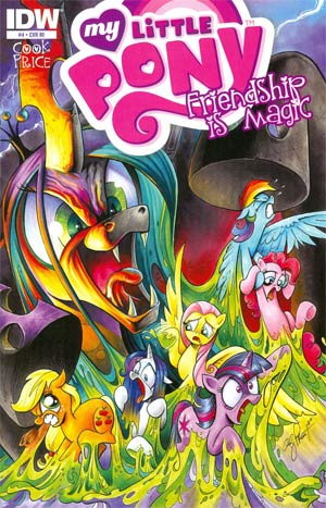 MLP Comic Cover